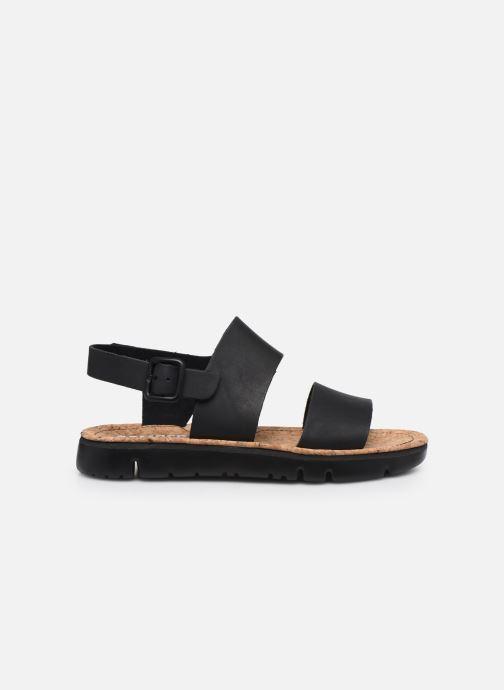 Sandales et nu-pieds Camper ORUGA II Noir vue derrière