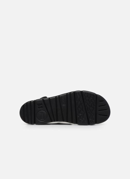 Sandales et nu-pieds Camper ORUGA II Noir vue haut