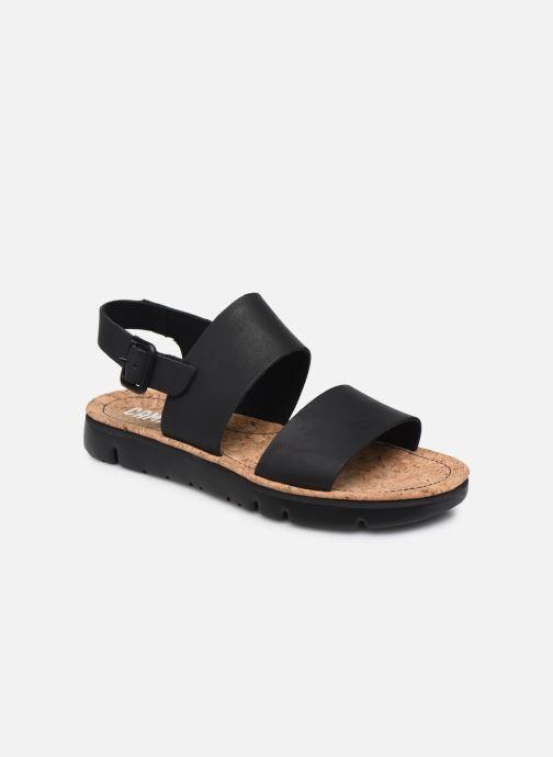 Sandales et nu-pieds Camper ORUGA II Noir vue détail/paire