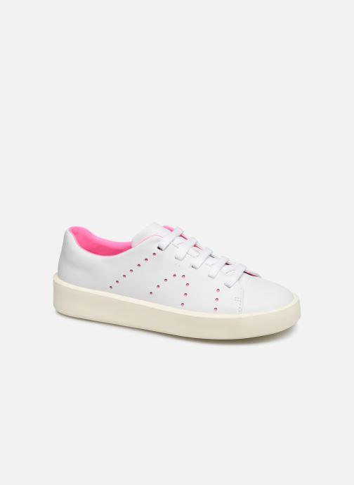 Sneakers Camper TWINS COURB Hvid detaljeret billede af skoene