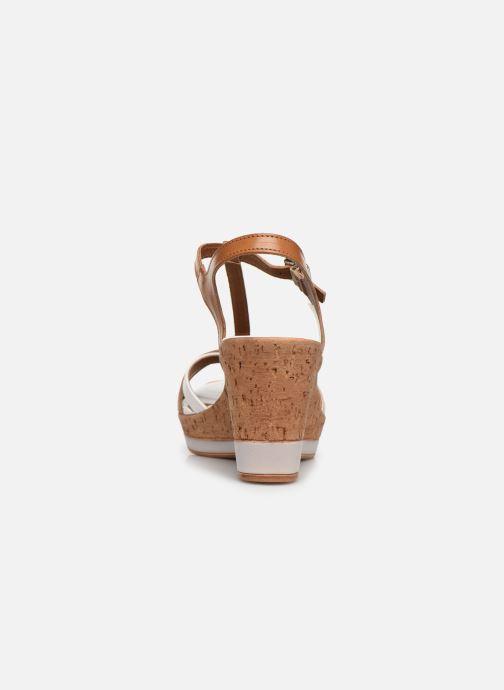 Sandales et nu-pieds Tamaris Sandales Marron vue droite