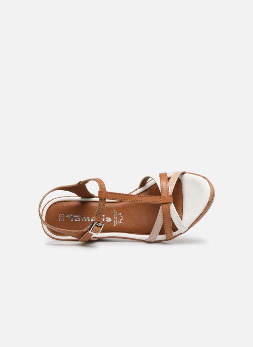 Sandales et nu-pieds Tamaris Sandales Marron vue gauche