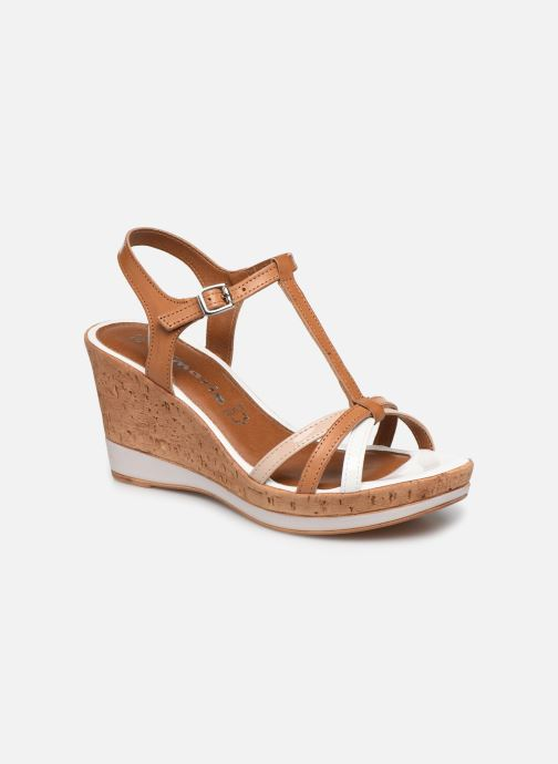 Sandals Tamaris Sandales Brown detailed view/ Pair view