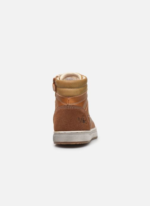 Trainers Mod8 Hyepy Brown view from the right