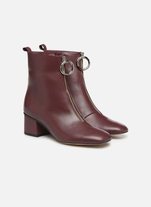 Bottines et boots L37 Electra Bordeaux vue 3/4