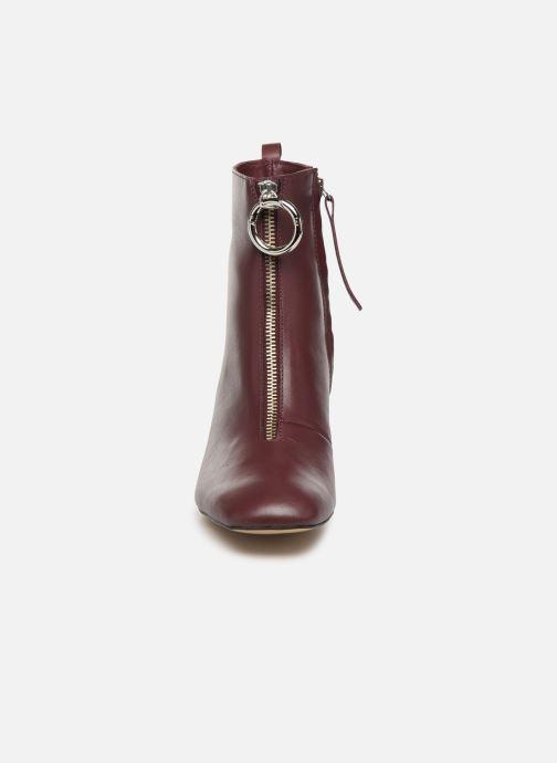 Bottines et boots L37 Electra Bordeaux vue portées chaussures