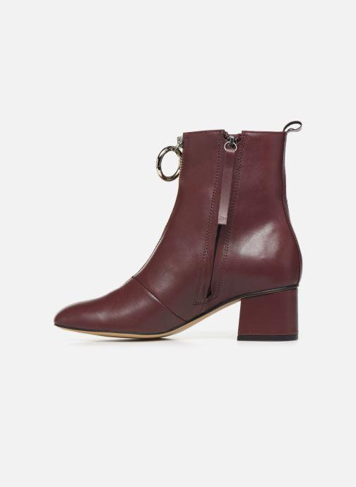 Bottines et boots L37 Electra Bordeaux vue face