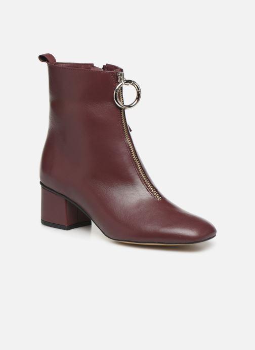 Bottines et boots L37 Electra Bordeaux vue détail/paire