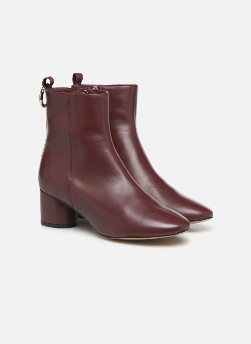 Bottines et boots L37 Gem Bordeaux vue 3/4