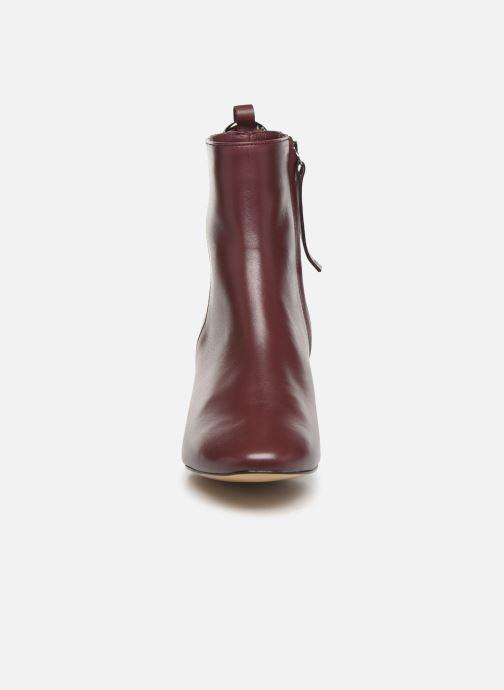 Bottines et boots L37 Gem Bordeaux vue portées chaussures