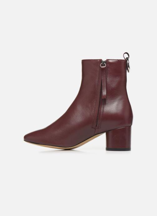 Bottines et boots L37 Gem Bordeaux vue face