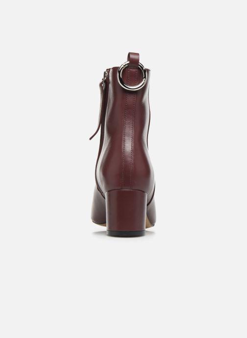 Bottines et boots L37 Gem Bordeaux vue droite