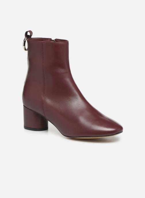 Bottines et boots L37 Gem Bordeaux vue détail/paire
