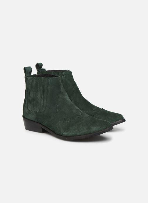 Bottines et boots L37 Libertas Vert vue 3/4