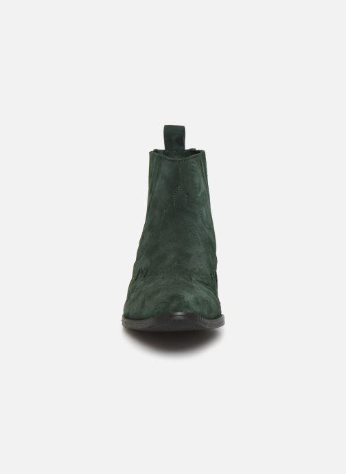 Bottines et boots L37 Libertas Vert vue portées chaussures