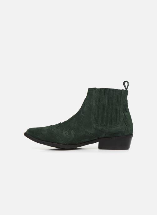 Bottines et boots L37 Libertas Vert vue face