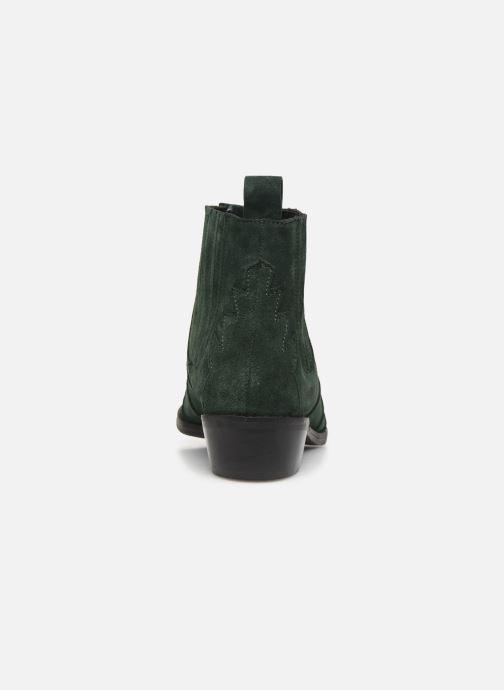 Bottines et boots L37 Libertas Vert vue droite