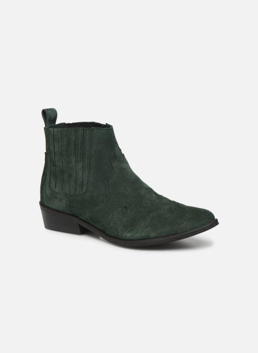 Bottines et boots L37 Libertas Vert vue détail/paire