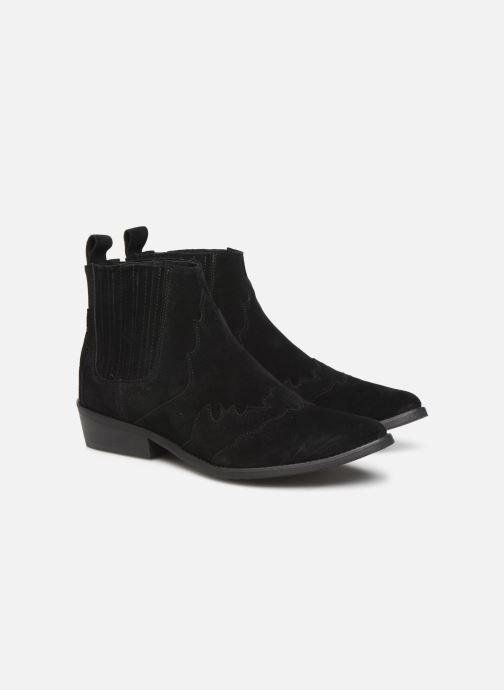 Bottines et boots L37 Libertas Noir vue 3/4