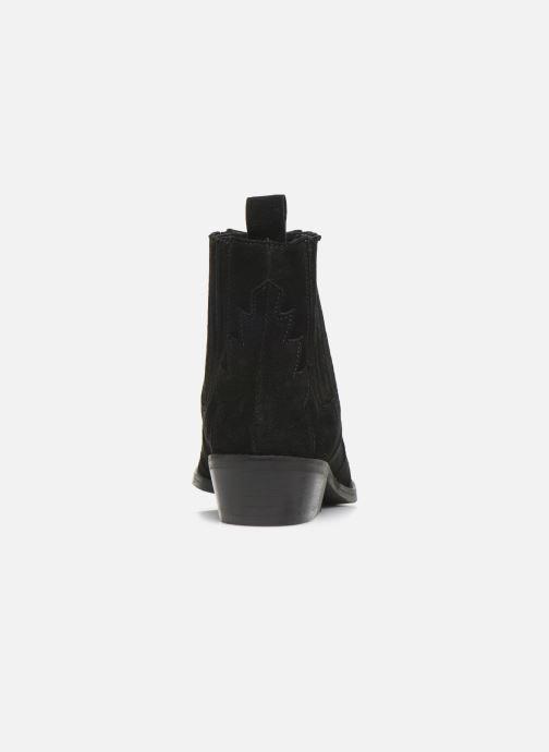 Bottines et boots L37 Libertas Noir vue droite