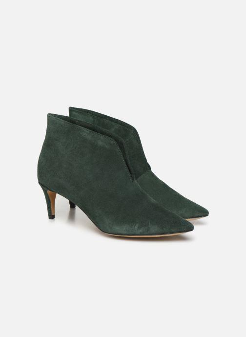 Bottines et boots L37 Marigold Vert vue 3/4