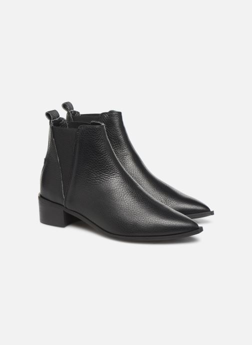 Bottines et boots L37 Northern Star Noir vue 3/4
