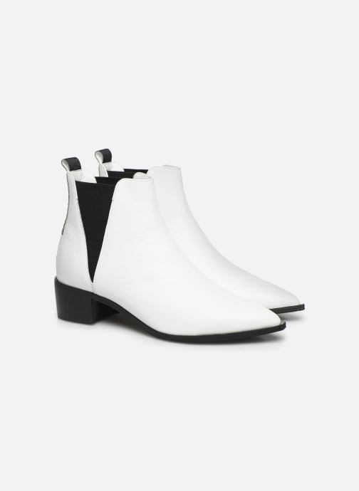 Bottines et boots L37 Northern Star Blanc vue 3/4