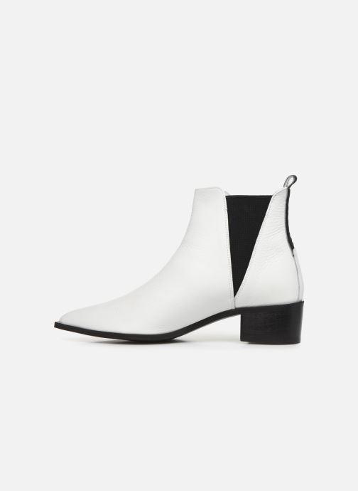 Bottines et boots L37 Northern Star Blanc vue face