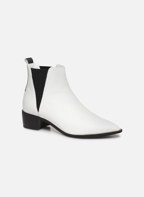 Bottines et boots L37 Northern Star Blanc vue détail/paire