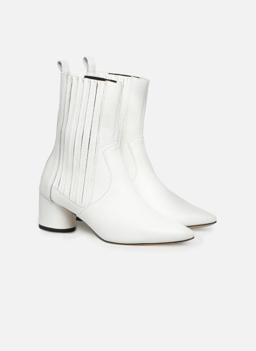 Bottines et boots L37 Walk on the Wild Side Blanc vue 3/4