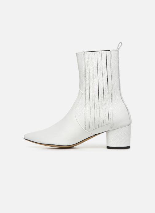 Bottines et boots L37 Walk on the Wild Side Blanc vue face