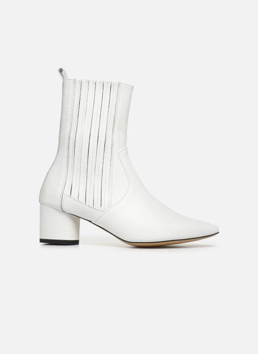 Bottines et boots L37 Walk on the Wild Side Blanc vue derrière