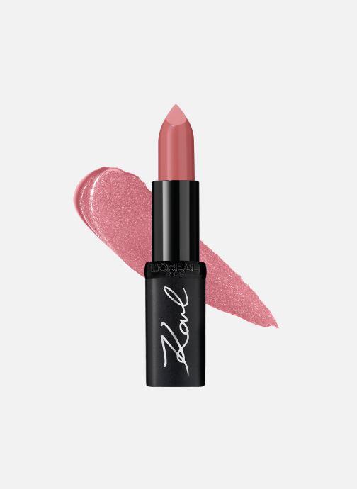 Produits d'entretien Karl Lagerfeld x L'Oréal Paris Rouge à lèvres Color Riche Satin Kultured Rose vue détail/paire