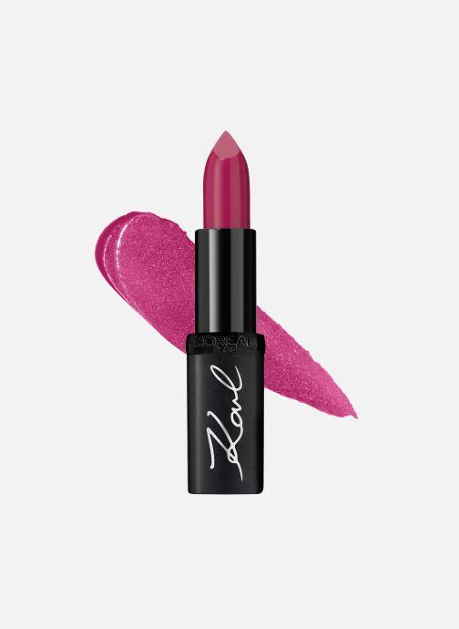 Produits d'entretien Karl Lagerfeld x L'Oréal Paris Rouge à lèvres Color Riche Satin Ironik Rose vue détail/paire