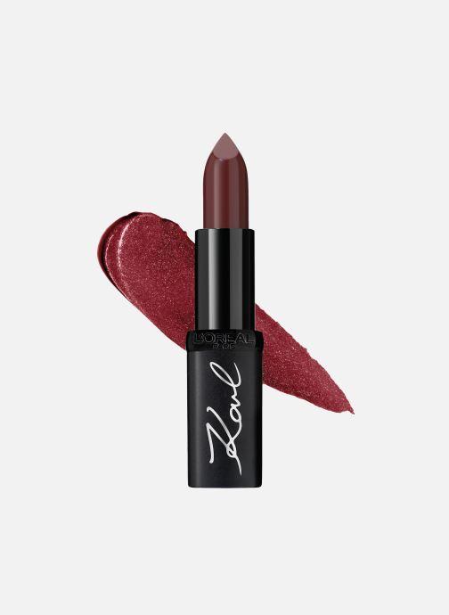 Produits d'entretien Karl Lagerfeld x L'Oréal Paris Rouge à lèvres Color Riche Satin Kontrasted Rouge vue détail/paire