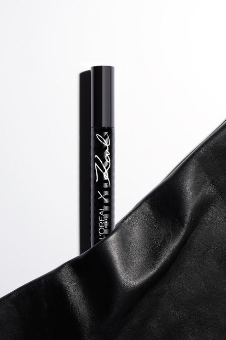 Produits d'entretien Karl Lagerfeld x L'Oréal Paris Mascara Black Noir vue face