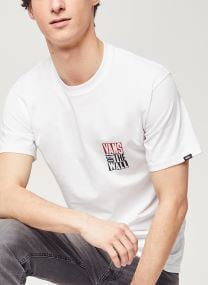 T-shirt - Mn New Stax Ss White
