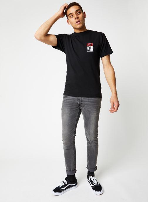 Vans T-shirt - Mn New Stax Ss Black (Noir) - Vêtements chez Sarenza (409864) THAhI