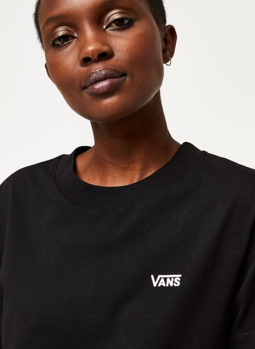 Vans Wm Junior V Boxy Black (noir) - Vêtements(409871)