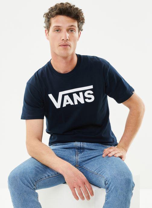 T-shirt - Mn Vans Classic Navy/White