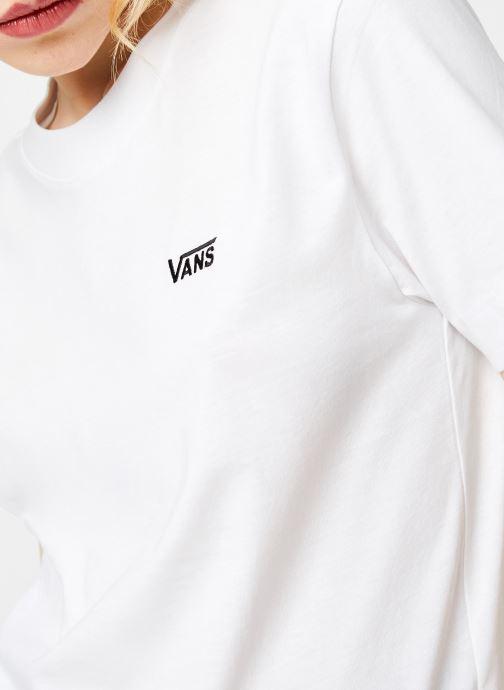 Vêtements Vans WM JUNIOR V BOXY White Blanc vue face