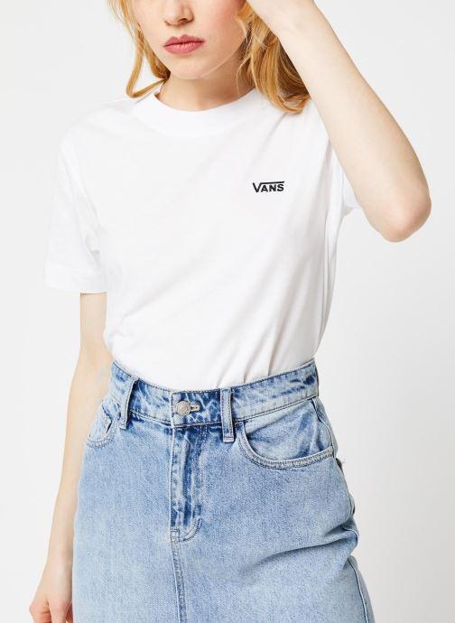 Vêtements Vans WM JUNIOR V BOXY White Blanc vue détail/paire