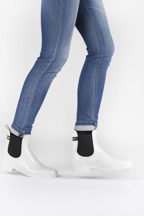 Bottines et boots Lemon Jelly Brisa Wasteless Blanc vue bas / vue portée sac