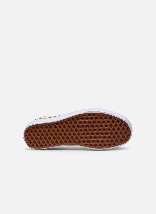 Sneakers Vans UA Old Skool classic Bianco immagine dall'alto