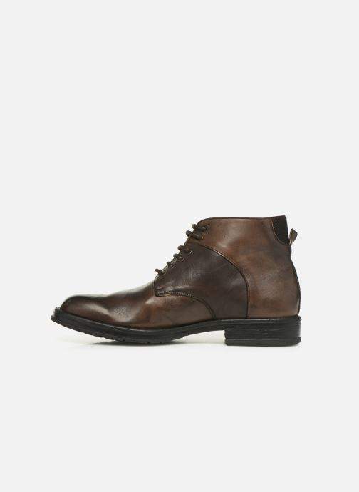 Ankle boots Florsheim EVERGLADES BEAVER Brown front view