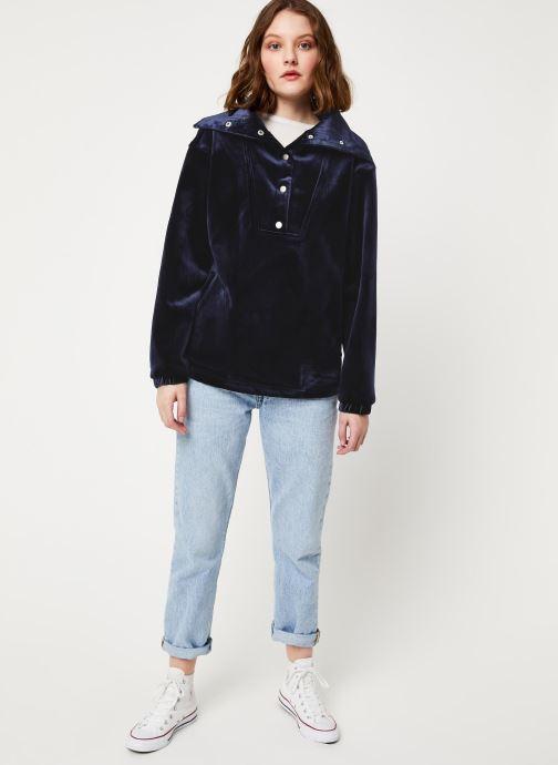 Vêtements Frnch F10673 Bleu vue bas / vue portée sac