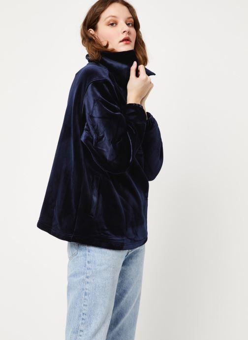 Vêtements Frnch F10673 Bleu vue droite