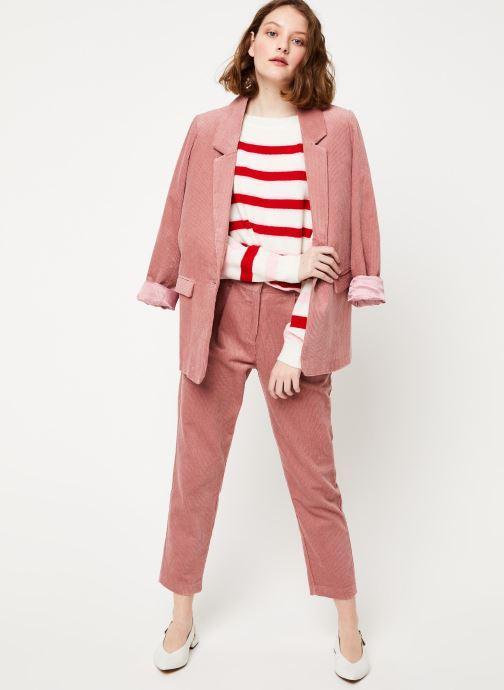 Vêtements Frnch F10701 Rose vue bas / vue portée sac