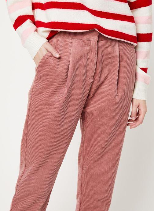Vêtements Frnch F10701 Rose vue face