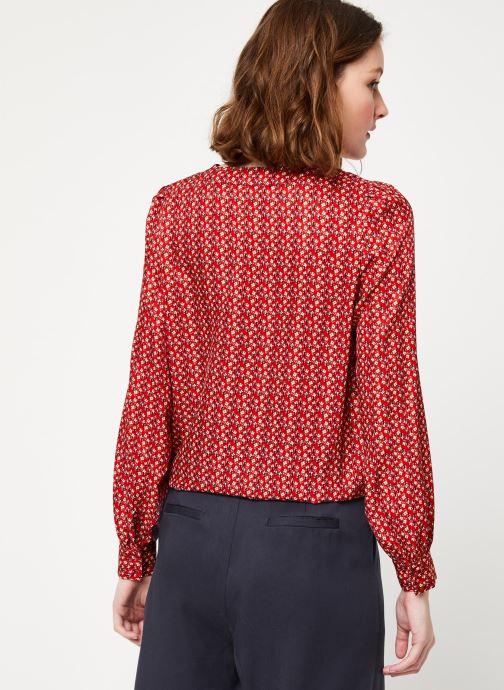Vêtements Frnch F10716 Rouge vue portées chaussures